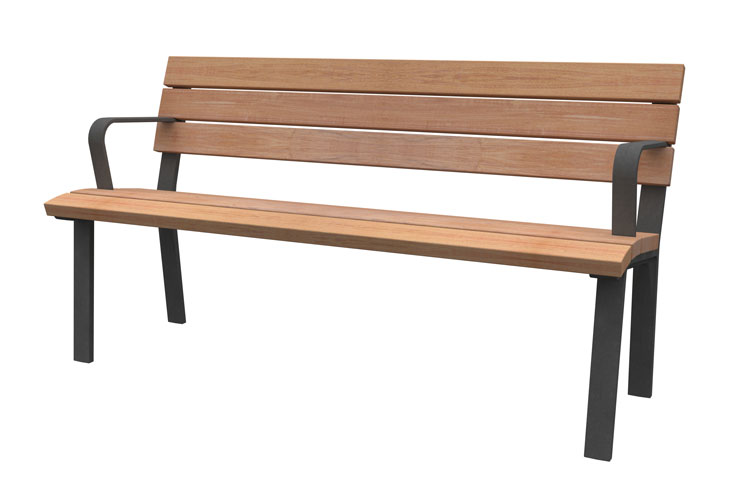 Anne 150, streetfurniture bench, straatmeubiliar bank
