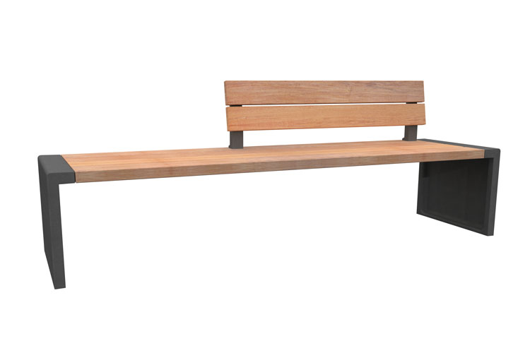 Line 250 R, streetfurniture bench, straatmeubiliar bank