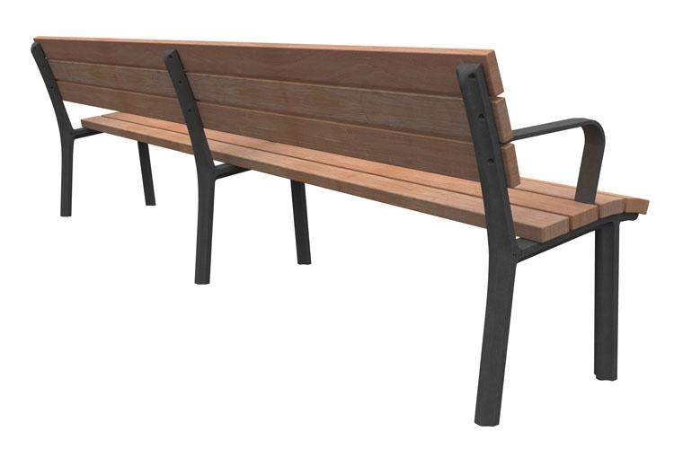 Anne 270, streetfurniture bench, straatmeubiliar bank